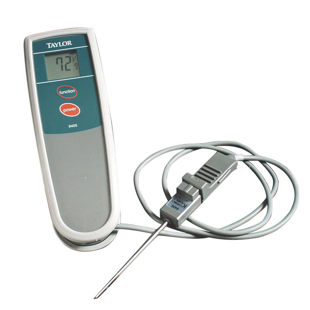 Taylor® 9405 Waterproof Thermocouple -40 - 500°F Thermometer