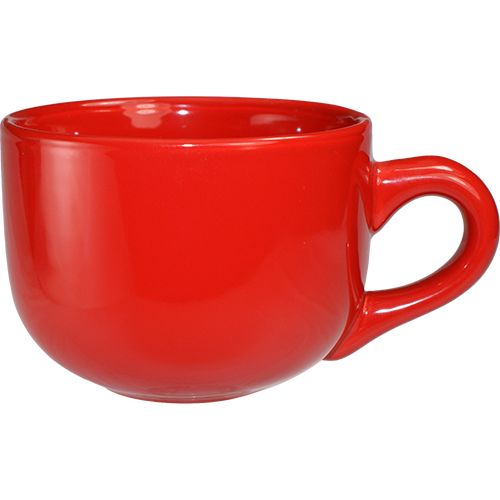 International Tableware 822-2194 Cancun Red 16 Oz Latte Cup - 24 / CS