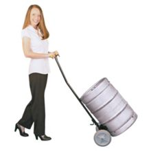 Bar Maid KPC-100 Keg And Pail Cart With Ergonomic Handle