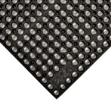 """Notrax 183-210 Black 39 x 58-1/2"""" San-Eze® Floor Mat"""