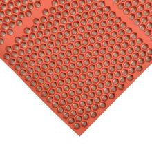 "Notrax 406-184 Brick Red Optimat® 36 x 48"" Floor Mat"