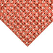 Notrax 439-502 Red 3' x 5' Tek Tough® Floor Mat