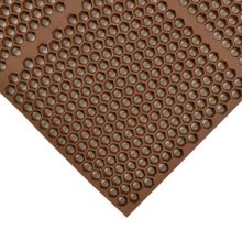 "Notrax 406-177 Optimat® 36"" x 24"" Brown Floor Mat"