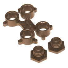 Notrax 406-194 Brown Optimat® Mat Connector