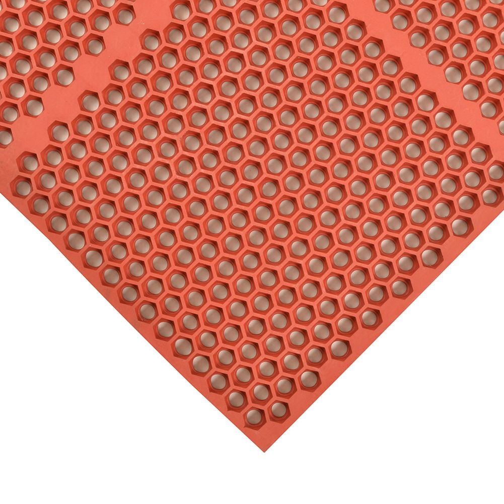 "Notrax 406-182 Red 24"" x 36"" Optimat® Floor Mat"
