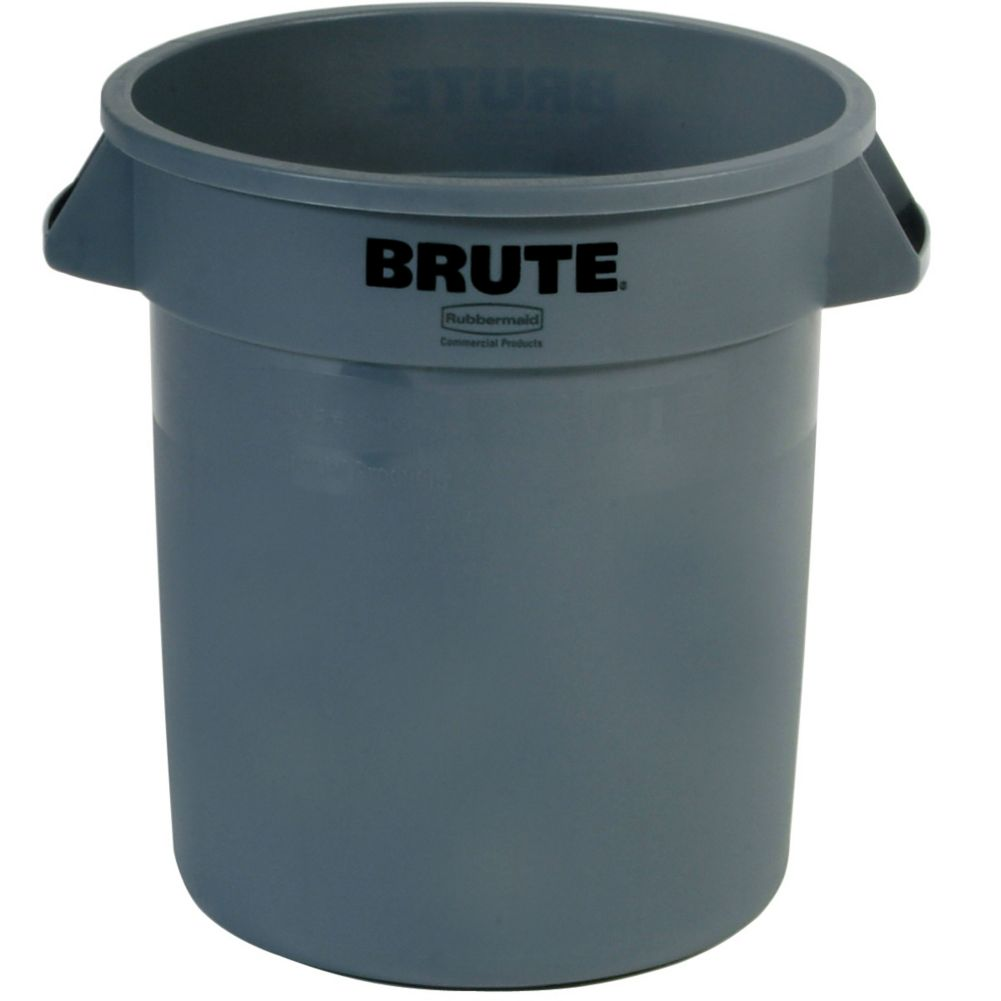 Rubbermaid FG261000GRAY BRUTE 10 Gallon Container without Lid