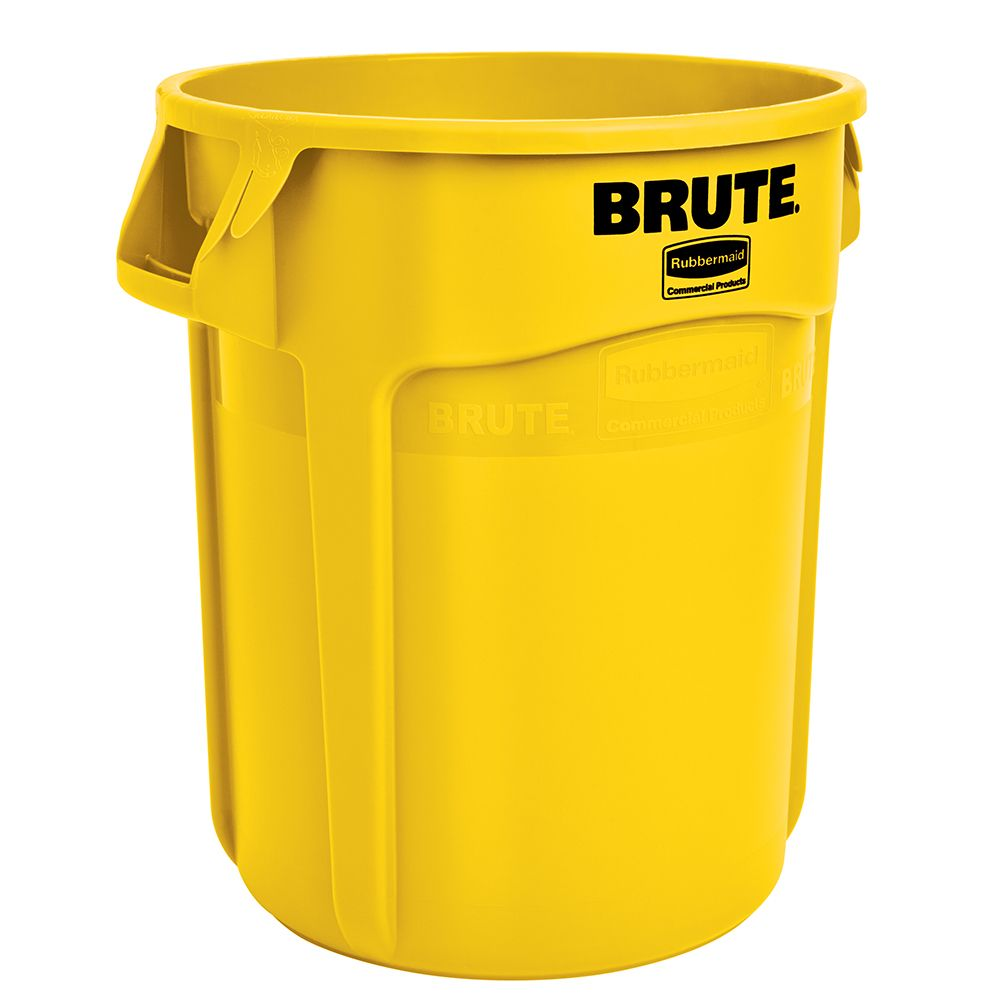 Rubbermaid FG262000 BRUTE low 20 Gallon Container without Lid