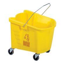 Continental 335-3YW Splash Guard™ Yellow 35 qt Mop Bucket