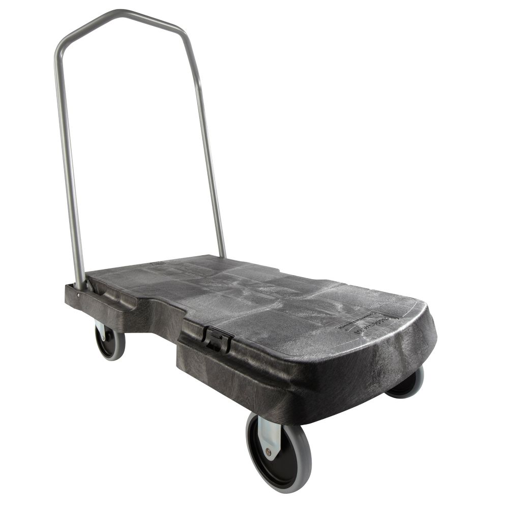 Rubbermaid® FG440100BLA Triple Black Standard Duty 400 lb Truck