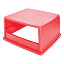 Rubbermaid® FG256V00RED Top w/o Doors for 256B Glutton Container