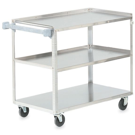 Vollrath® 97140 Extra Heavy Duty S/S 3-Shelf Utility Cart