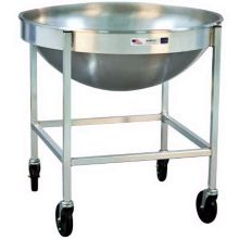 """New Age Industrial 98716 Aluminum 30 x 30 x 30"""" Mixing Bowl Dolly"""