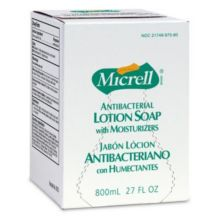 Gojo 975606 Micrell 800 mL Antibacterial Lotion Soap Refill - 6 / CS