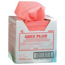 Chicopee 8294 Quix® Plus Pink Sanitizing Towels - 72 / CS