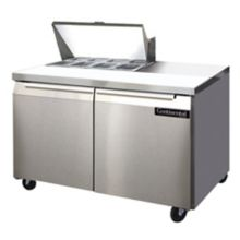 "Continental SW48-8 Standard Top 48"" Sandwich / Salad Prep Table"