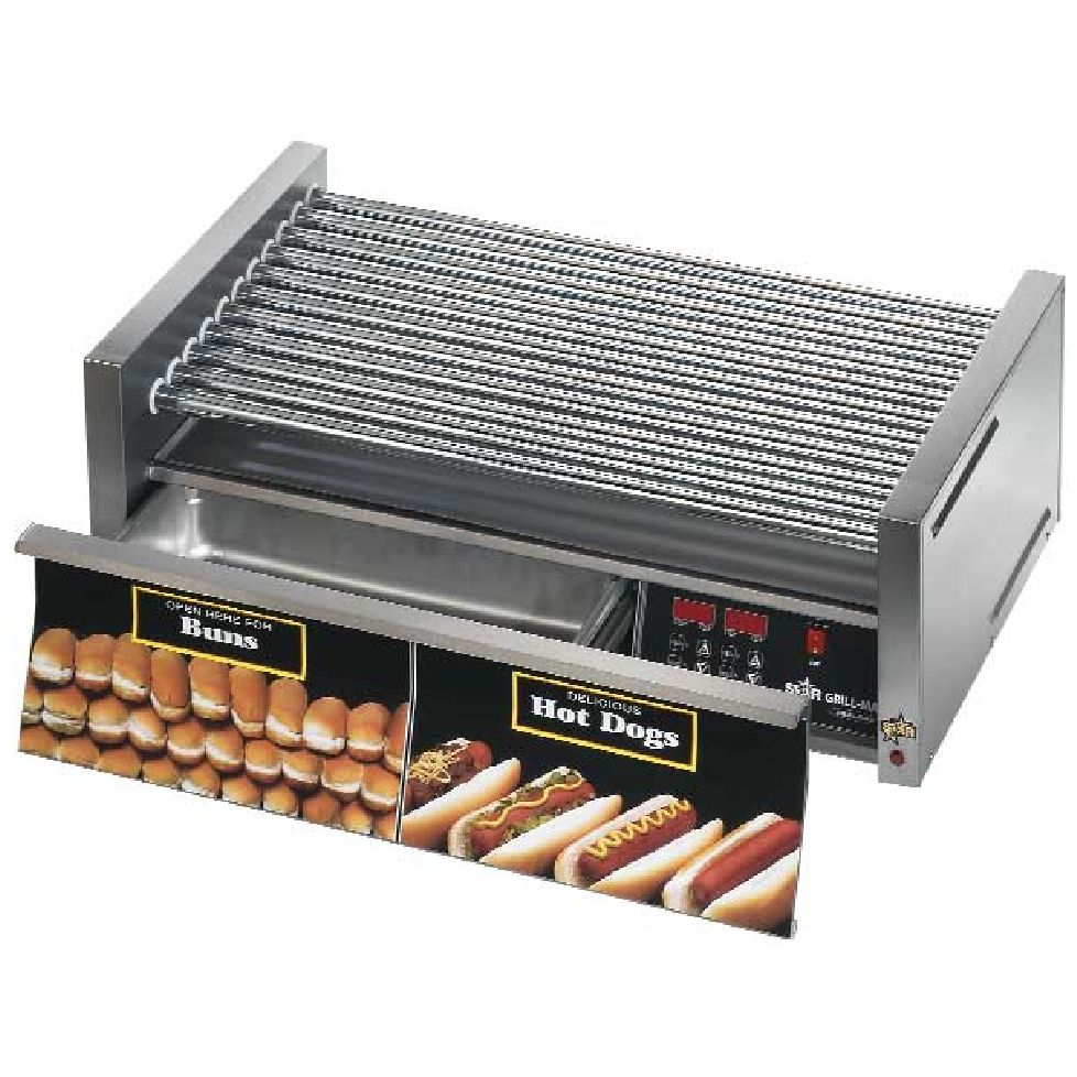 Star® 50SCBDE Grill-Max® Electronic Roller Grill with Drawer