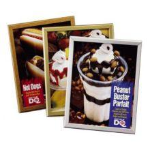 Marketing Displays 610SAFP PosterGrip® Satin Silver Insert Frame