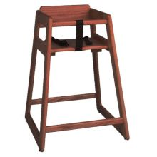 "Tomlinson® 1016310 Marston 29"" Walnut High Chair"