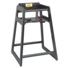"Tomlinson® 1016298 Marston 29"" Black High Chair"