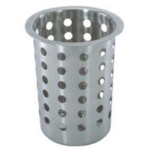 Update International FC-SS Stainless Flatware Cylinder with Holes