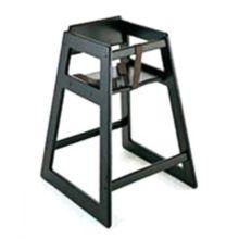 "Koala Kare KB800-22 27.5"" Black Finish Hardwood High Chair"