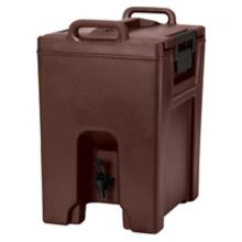 Cambro UC1000131 Ultra Camtainer® Brown 10.5 gal. Beverage Carrier
