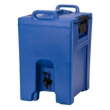 Cambro UC1000186 Ultra Camtainer Navy Blue 10.5 Gal. Beverage Carrier