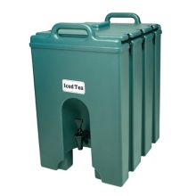 Cambro 1000LCD519 Camtainer Green 11.75 Gal. Insulated Beverage Server