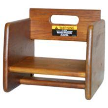 Tomlinson® 1016297 Marston Walnut Booster Seat