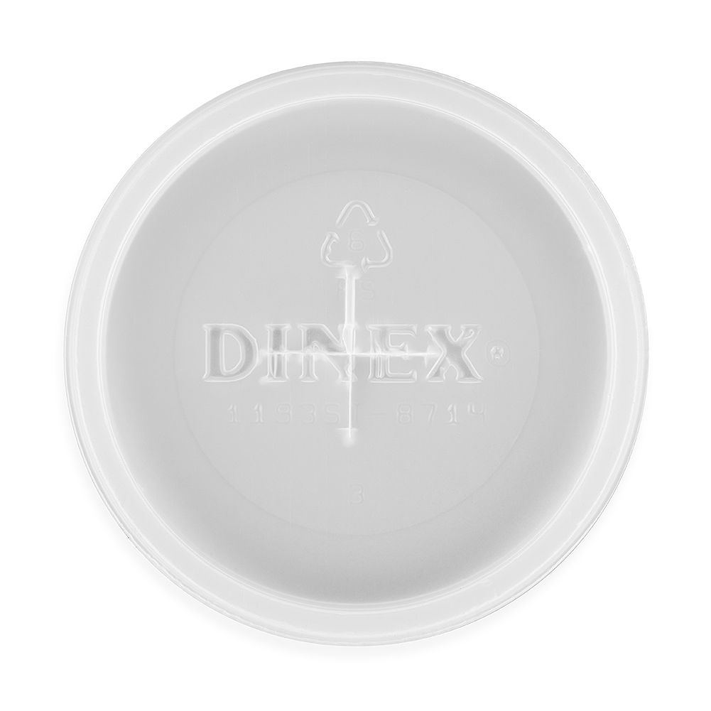 Dinex DX1193ST8714 Lid with Straw Slot for 5 Oz. Tumblers - 1000 / CS