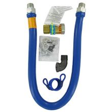 "Dormont 1675BPQ48RDC 3/4"" x 48"" Gas Hose Kit With Quick Disconnect"