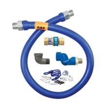 "Dormont 1675BPQS60RD 3/4"" x 60"" Gas Hose Kit With Quick Disconnect"