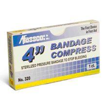 "Afassco® 320 4"" Compress Bandage - 1 / BX"