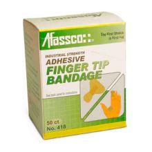 Afassco® 418 Fine Woven Adhesive Fingertip Bandages - 50 / BX