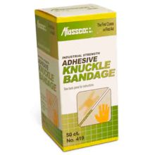 Afassco® 419 Fine Woven Adhesive Knuckle Bandages - 50 / BX