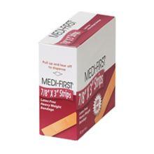 Afassco 466 Coarse Woven Elastic Adhesive Bandage Strips - 50 / BX