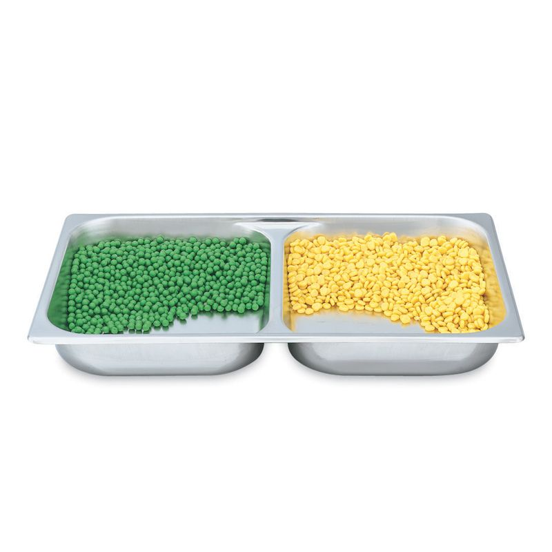 "Vollrath® 46853 S/S Full Size x 2.5"" D Divided Food Pan"