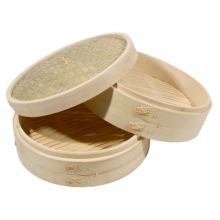 "Town Food Service 34212 12"" Bamboo Steamer Set"