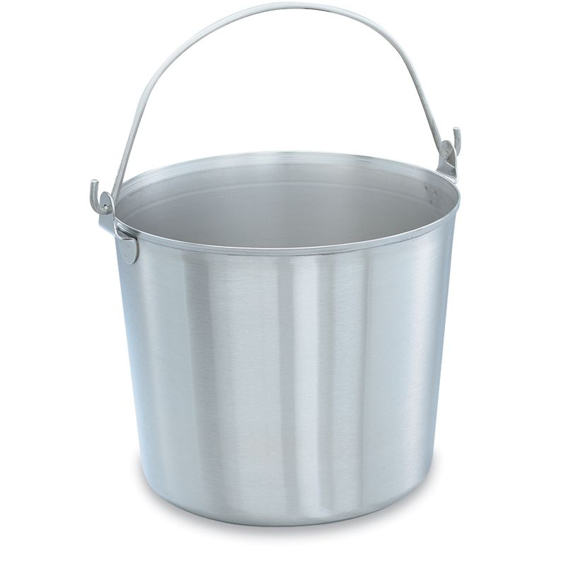Vollrath® 59120 Stainless Steel 13 Quart Handled Utility Pail