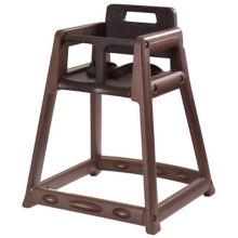 "Koala Kare KB850-09 Brown Plastic 28"" High Chair"
