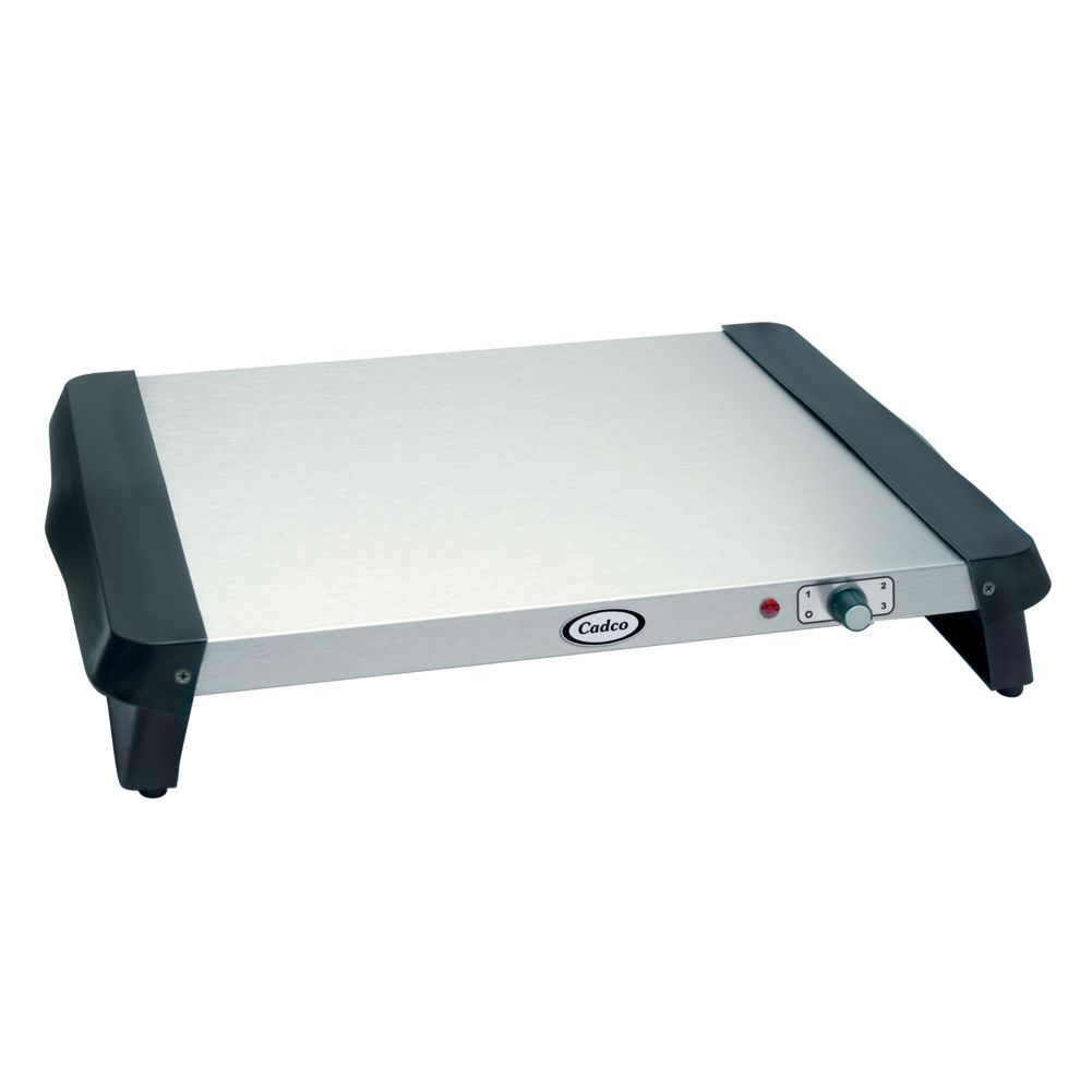 Cadco WT-5S Small Stainless Steel Countertop Warming Tray