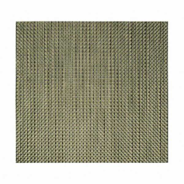 FOH® XPM051GOV83 Gold 13 Basketweave Placemat - 12 / CS