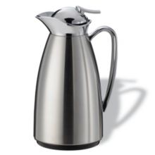 Service Ideas™ CJZ1BS Classy 1 Liter Vacuum Carafe - 6 / CS