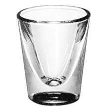 Libbey® 5122 Whiskey Service 1 Ounce Lined Glass - Dozen
