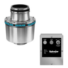 Salvajor 100-CA-12-MRSS 1-HP Disposer with Manual Reverse
