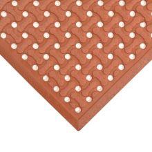 Notrax T18U0046RD Superflow® 4' x 6' Red Floor Mat