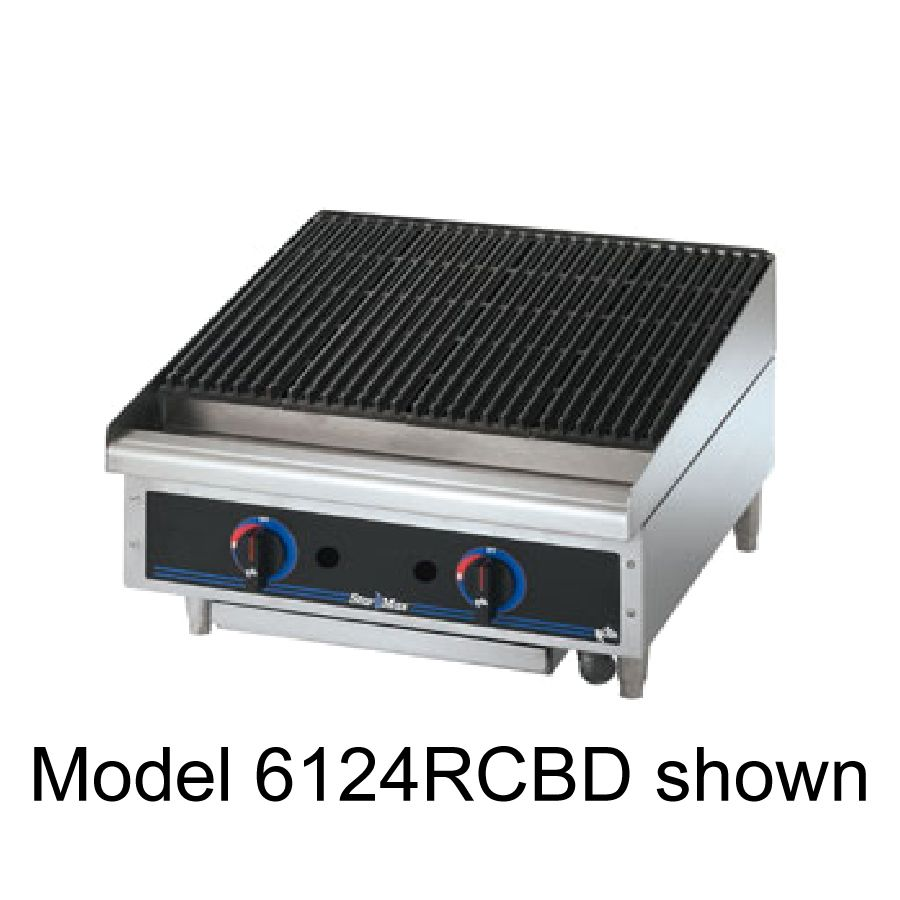 "Star® 6115RCBF Star-Max® 15"" Radiant Gas Charbroiler"