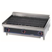 """Star® 5136CF Star-Max® 36"""" Radiant Electric Charbroiler"""