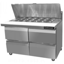 "Continental SW48-12M-D 48"" Mighty Top Sandwich / Salad Prep Table"