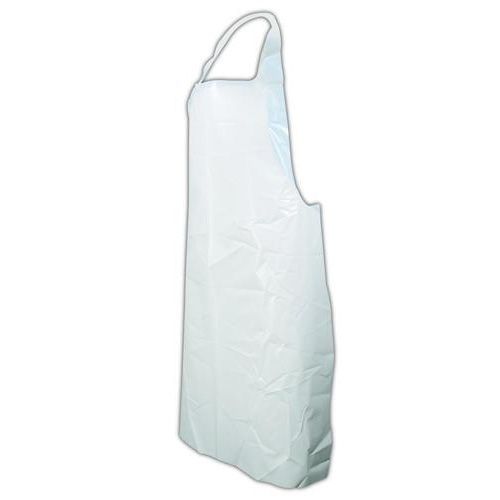 Ansell 54-290/972155 White Disposable Polyethylene Aprons - 100 / BX